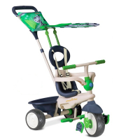 Велосипед 3-х колесный Smart Trike Safari Touch Steering, EVA тёмно-зелёный 1781500