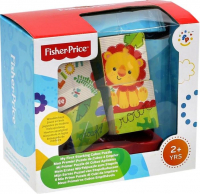 Пазлы Fisher Price из 4 частей на платформе,13х10х12см, ФП-2001