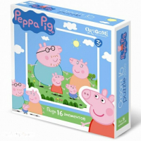 Пазлы Origami Peppa Pig. 16A 1576