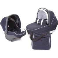 Набор Peg-Perego Navetta XL, Primo Viaggio Tri-Fix, Borsa Bloom Navy, (т.синий)
