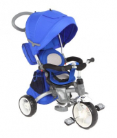 "Велосипед 3-х колесный  Capella ""TWIST TRIKE 360(Е)"" BLUE (синий) EVA"