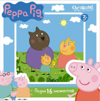 Пазлы Origami Peppa Pig. 16A 1578