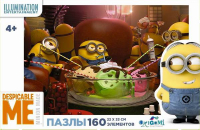 Пазлы Origami Minions. 160A 1787