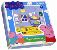Пазлы Origami Peppa Pig. 25A 1582