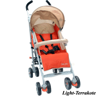 Фото - mini №1: Коляска Baby Care Polo 107 Light Terrakote