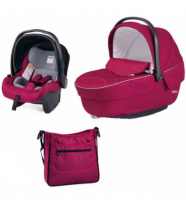 ������ Peg-Perego �����: Navetta Pop Up,Primo Viaggio Tri-Fix,Borsa FLEUR (������)