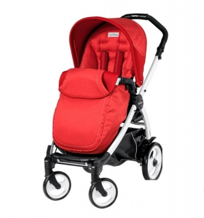 "������� Peg-Perego ""BOOK PLUS POP UP COMPLETO"" ����� BOOK PLUS BLACK/SILVER  SUNSET (�����) 2015"
