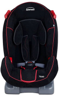 Автокресло Bebe Beni Taxi (9-25кг) Black/Red Strip
