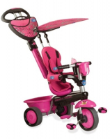 Велосипед 3-х колесный Smart Trike Zoo-Collection (Butterfly) темно-розовый 1570200