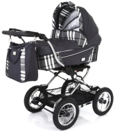 Коляска Baby Care Sonata Dark/Grey