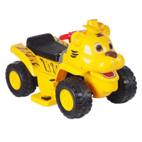Электроминикар TOKIDS 2в1 ТИГР , 6V/4Ah, Желтый YELLOW 606CBM