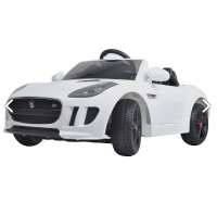Электромобиль  SHINE RING JAGUAR F-TYPE, 12V/7Ah (2х35w motor, EVA) , Белый SR218