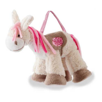 "����� Jolly Ride ""Rock My Baby"" Donkey (pink and yelloy) JR 1120"