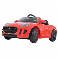 Электромобиль  SHINE RING JAGUAR F-TYPE, 12V/7Ah (2х35w motor, EVA) , Красный SR218