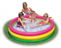 "Надувной бассейн INTEX ""Sunset Glow Pool"" 114х25см. от 3-х лет int57412NP"