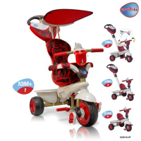 Велосипед 3-х колесный Smart Trike Dream Touch Steering (красный) 8000500