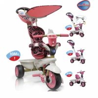Велосипед 3-х колесный Smart Trike Dream Touch Steering (розовый) 8000200