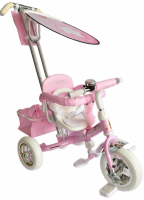 Велосипед 3-х колесный Funny Jaguar Lexus Trike Next Barbie розовый MS-0573