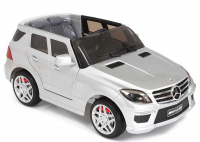 Электромобиль Keep Top MERCEDES ML63 AMG краш. серебристый SILVER 3-8лет KT6698P