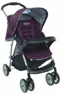 Коляска Graco прогулочная Mirage + W Parent tray and boot, (Plum)