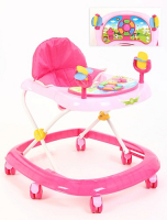 Ходунки Kids-glory FL-616 NEW PINK