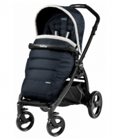 Фото №1: Коляска Peg-Perego Book Plus Pop Up Completo, шасси Book Plus Matt Black, Luxe Blue GL000554232