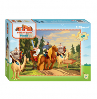 Пазл Step Puzzle Три Богатыря. 60Д 81151
