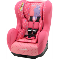 Автокресло Nania COSMO SP+ ANIMALS HIPPO FUSHIA роз. 86135