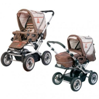 Коляска Baby Care Eclipse Brown