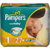Подгузники Pampers New Baby Newborn  2/5 кг 27 шт