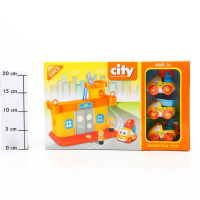 Игровой трек City Engineering Series 51 дет. FJ-6018K Г50604