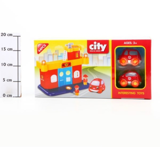 Фото - mini №1: Игровой трек CITY Rescue Series 44 дет. FJ-6038K Г50602