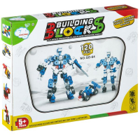 Конструктор  Shenzhen Building Blocks 120 деталей, синий, GD-64 Г79338