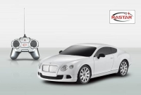 Фото №1: Машина на р/у  Rastar 1:24 Bentley Continental GT speed 48600