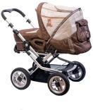 Коляска Baby Care Manhattan Air-4S Brown