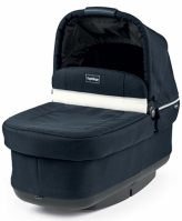 Люлька Peg-Perego Navetta Pop-Up Luxe Blue, (синий/бел)