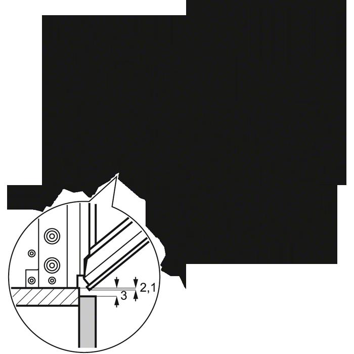 Схема встраивания EOB3430COX