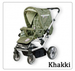 Коляска Baby Care Manhattan Air-4S Khakki