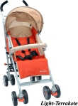 Коляска Baby Care Polo 107 Light Terrakote