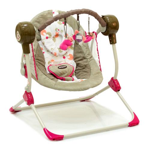 Baby Care Электрокачели Balancelle, (Pink)