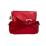 Сумка Kalencom Cумка NEW FLAP BAG IRREDESCENT PATTENT, (Red)