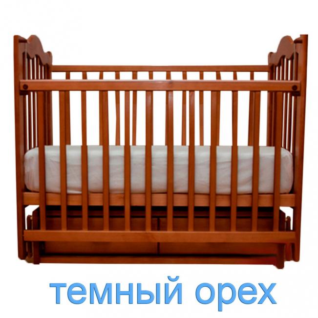 Счастливый малыш Дюймовочка поперечный маятник/ящик (тёмный орех) 7