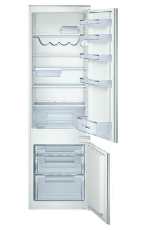 Двухкамерный встраиваемый холодильник Bosch