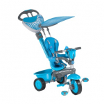 Велосипед 3-х колесный Smart Trike  Zoo-Collection (Dolphin) синий1573900