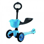 Самокат 21st scooTer  с сиденьем Maxi Scooter SKL-06B (Blue)