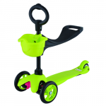 Самокат 21st scooTer  с сиденьем Maxi Scooter SKL-06B (Green)