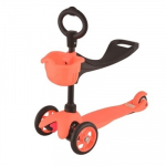 Самокат 21st scooTer  с сиденьем Maxi Scooter SKL-06B (Orange)