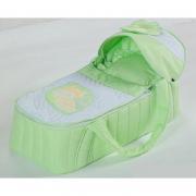 Дно - фанера.  Детская сумка переноска.  Ткань - 100% хлопок (сатин).  В комплекте. матрасик, подушечка.