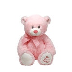 TY Classic. Медвежонок My First Teddy (розовый), 20,32 см 50066