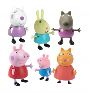 ������� ����� Toy Options(Far East) Limited PEPPA PIG. ����� � ������ 6 ������� 24312
